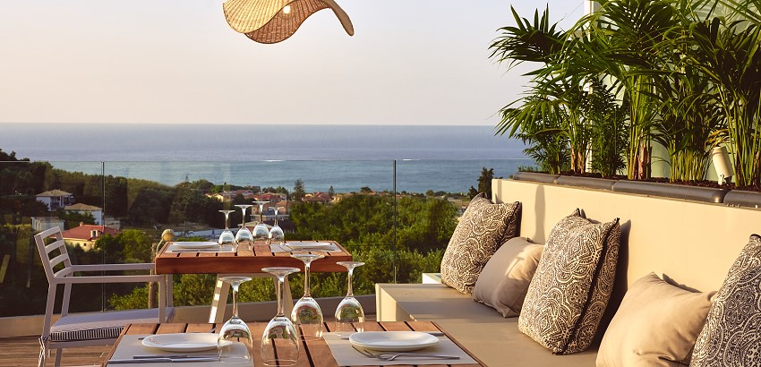 Zakynthos Luxury Villas - Suite's Restaurant